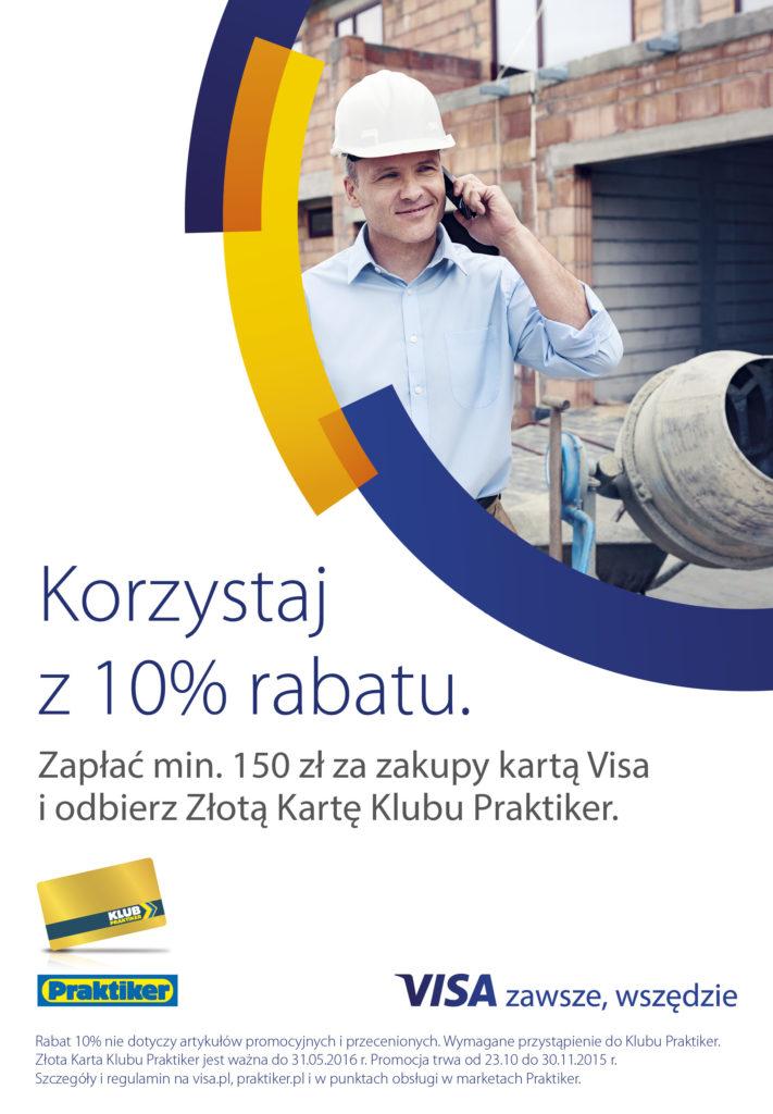 Promocja Visa i sieci Praktiker