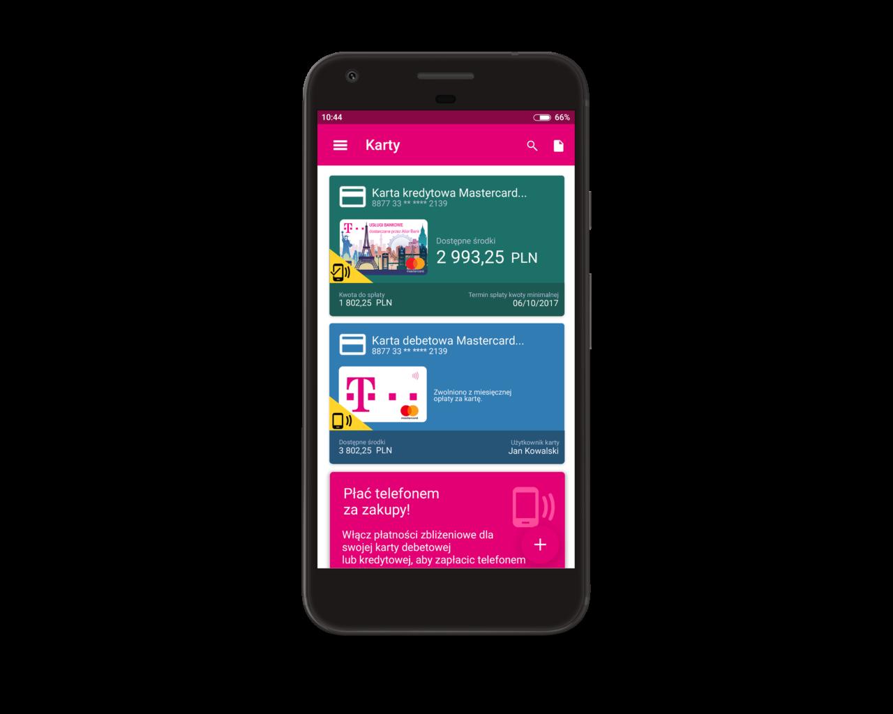 Platnosci Zblizeniowe W Aplikacji Mobilnej T Mobile Uslugi Bankowe