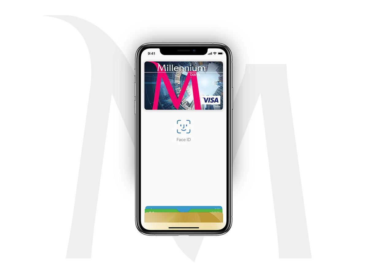 63b3a6f7cbef4e Bank Millennium udostępnił dzisiaj płatności Apple Pay ...